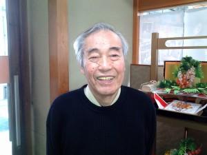 福山市古典芸能保存会の星野由幸会長